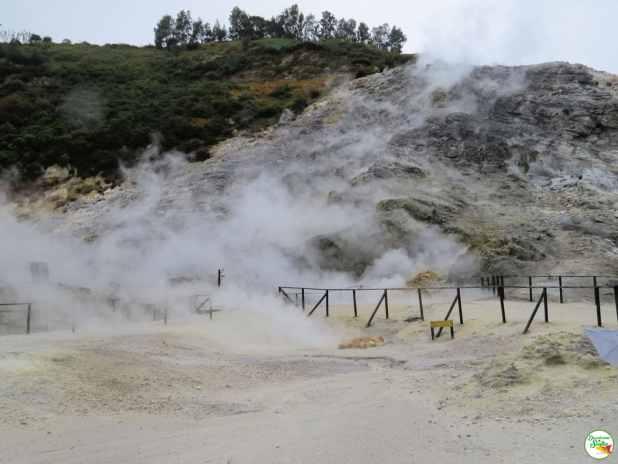 vulcão Solfatara