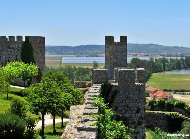Vistas do Castelo de Montemor