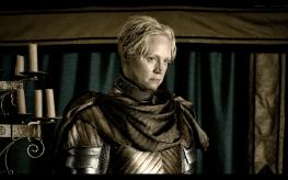 Brienne de Tarth interpretada por Gwendoline Christie