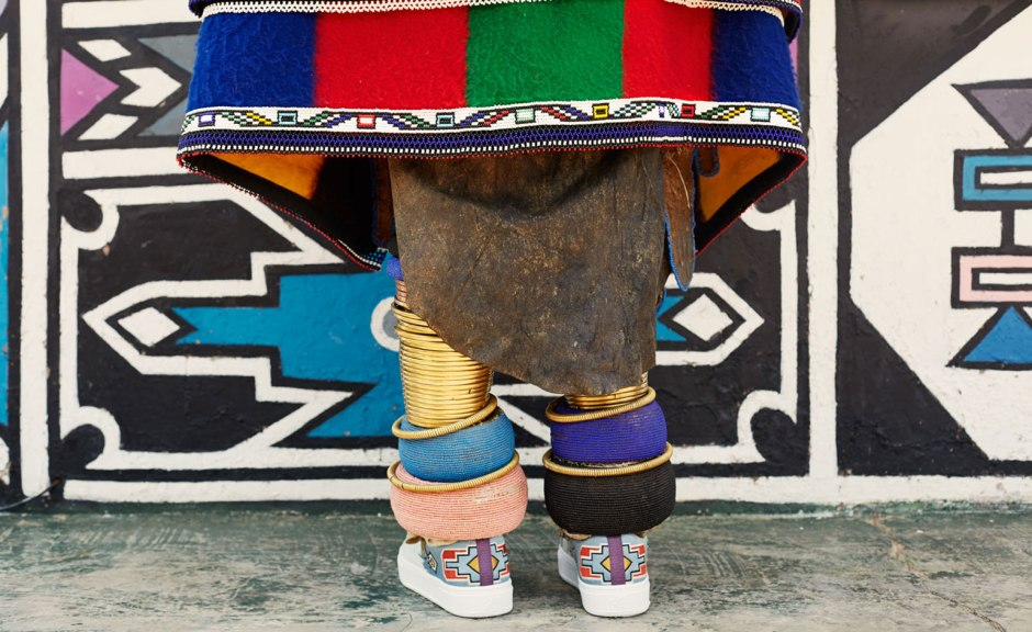 esther-mahlangu-with-her-sneakers