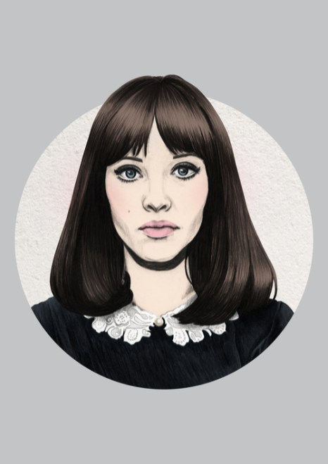 Veriette Illustration - Anna Karina