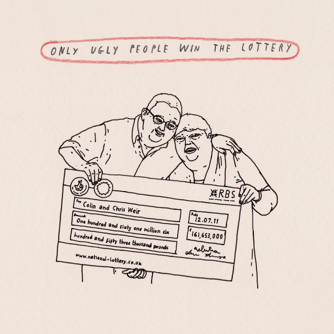 Mr Bingo - Only ugly people win the lottery