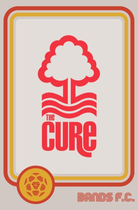 Bands FC - The Cure