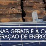 Minas Gerais bate recorde em Energia Solar Fotovoltaica