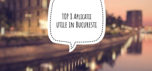 Top8 Aplicatii utile in Bucuresti