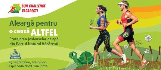 Sun Challenge: Aleargă pentru a proteja țestoasele din Parcul Văcărești!