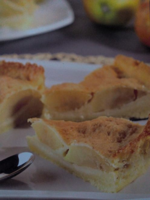 Prăjitură prezentată în cartea cu rețete