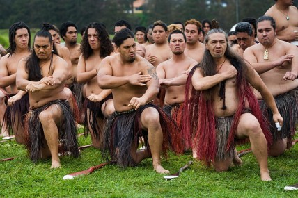 New Zealand Maori ceremony