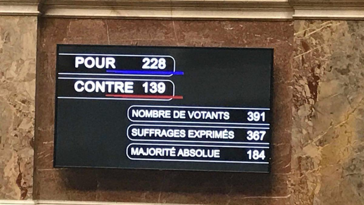 Vote solennel sur le projet de loi Asile, Immigration et Intégration.