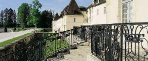 Um dos únicos castelos hotel da região da borgonha.