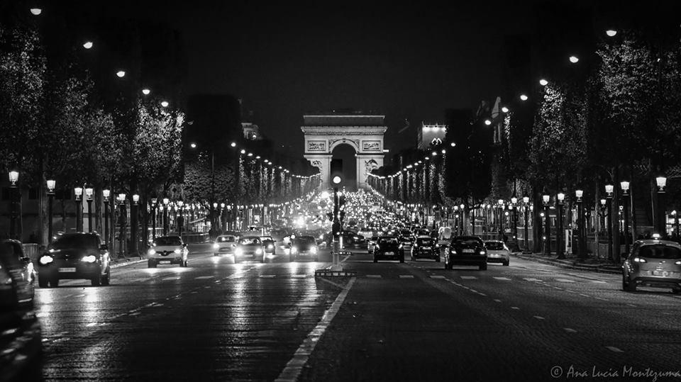 Avenida Champs Elysée no natal.