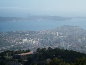 Monte Faron em Toulon.
