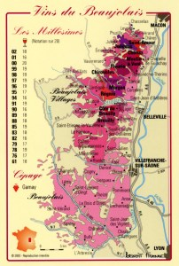 carte beaujolais - carte-beaujolais