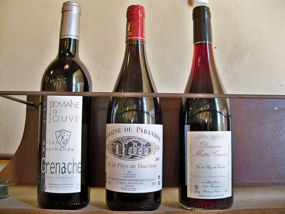 categorias dos vinhos franceses