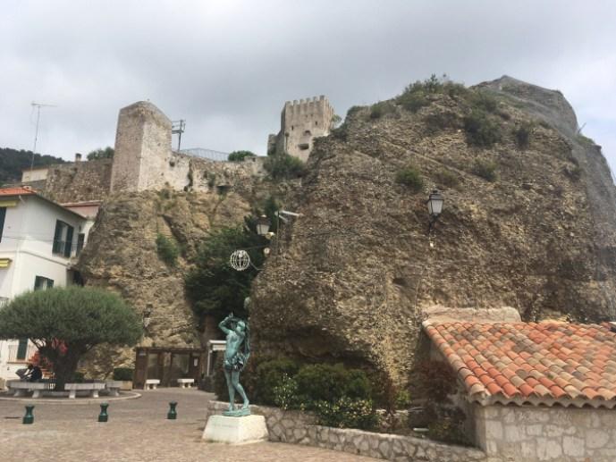 Côte d'Azur Castelo de Roquebune