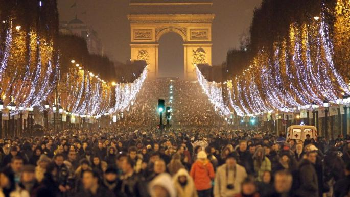 Ano Novo na França, Champs Elysee