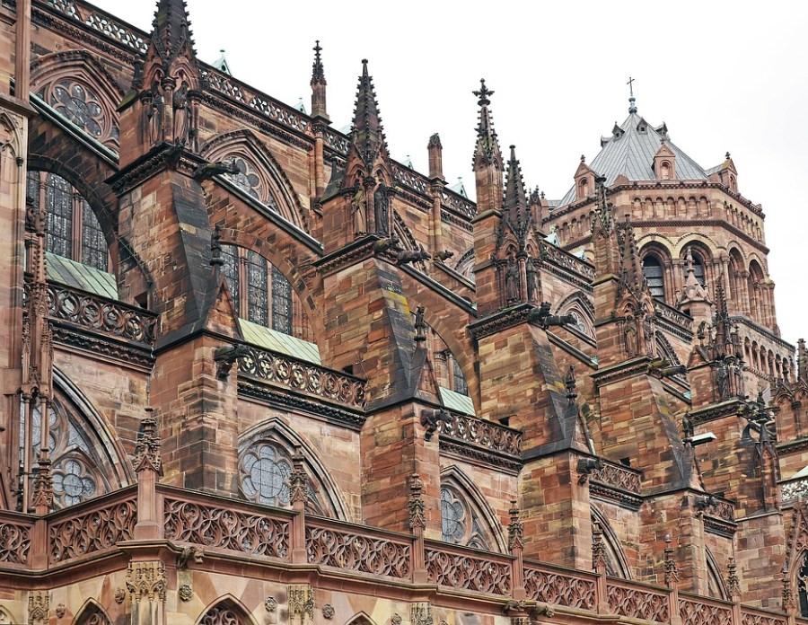 Viajar na terceira idade para a França, Catedral de Estrasburgo