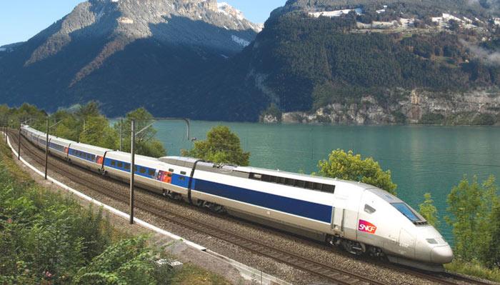 Trem de alta velocidade, TGV.