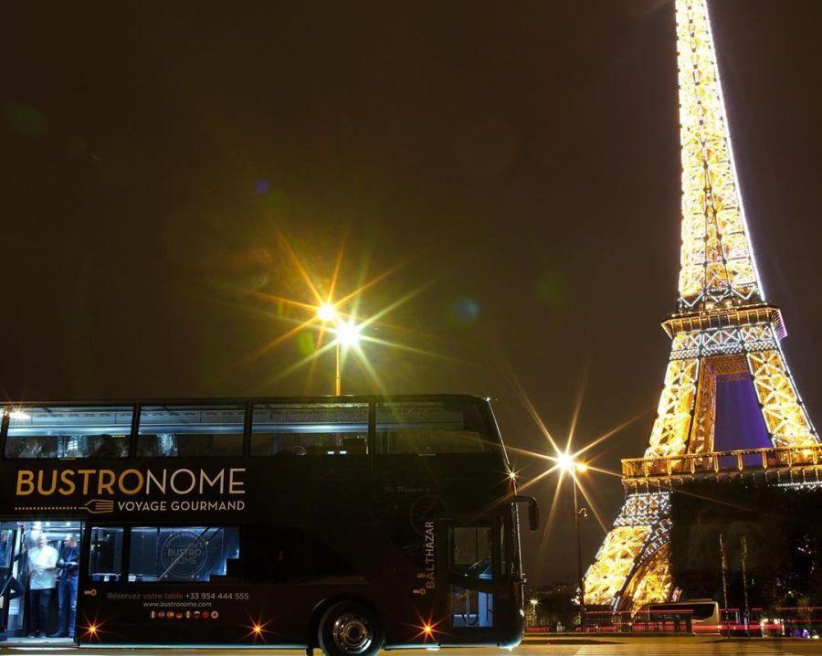 ônibus restaurante em Paris