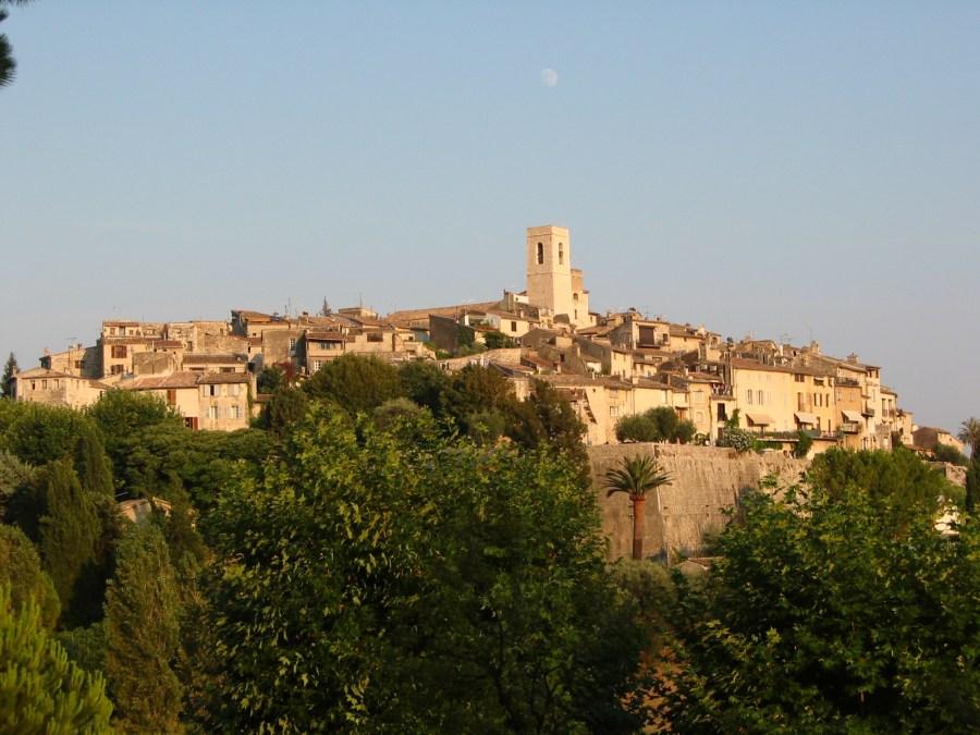 Vilarejo de St Paul de Vence, França