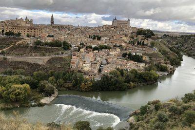 Panoramica de la cidad de Toledo desde el mirador