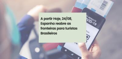 Documenso para viajantes brasileiro na Espanha