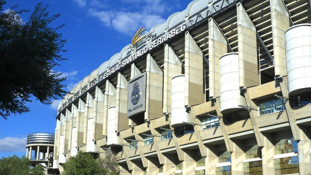 Panoramita de estadio Santiago Bernabeu