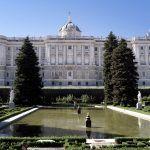 Palacio Real de Madrid visto desde la Plaza de Oriente