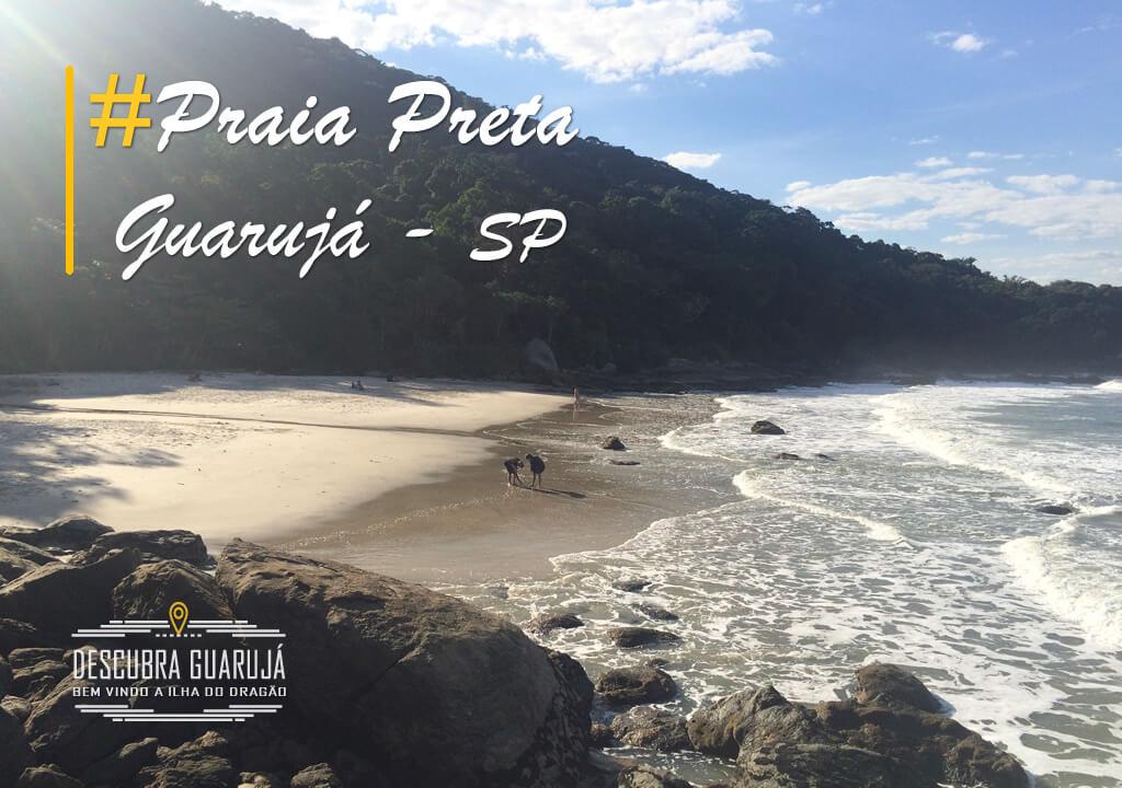 Praia Preta Guarujá - Prainha Branca