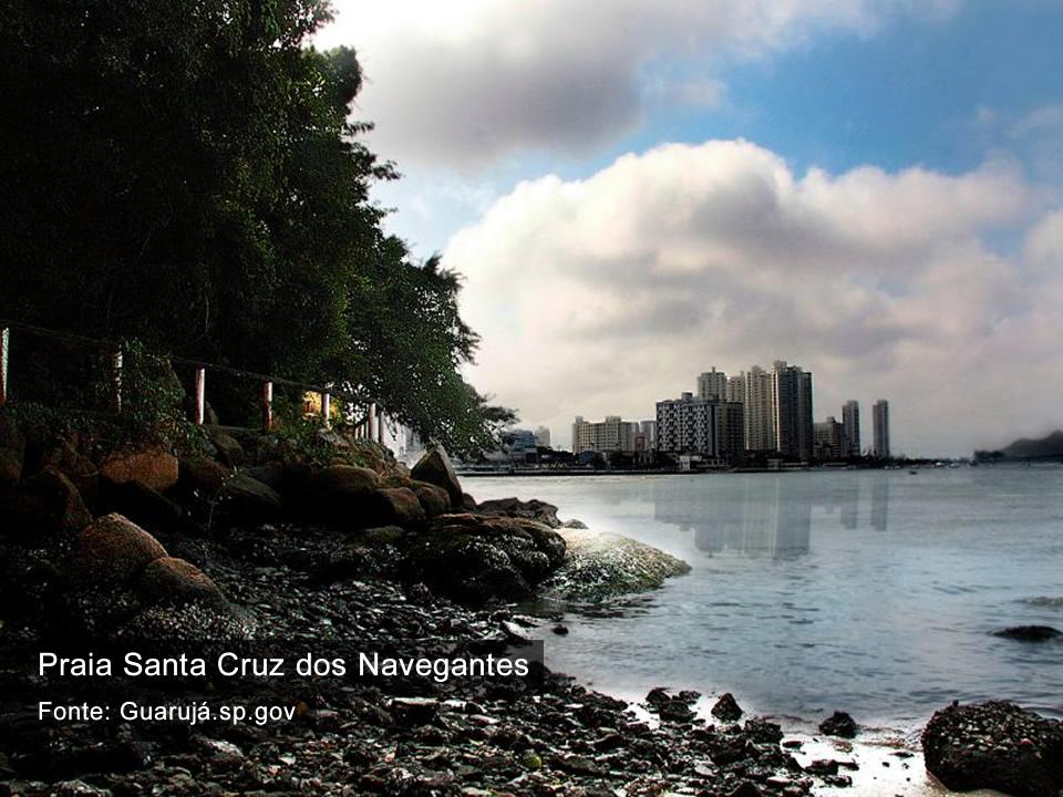 Praia Santa Cruz dos Navegantes - Guarujá SP
