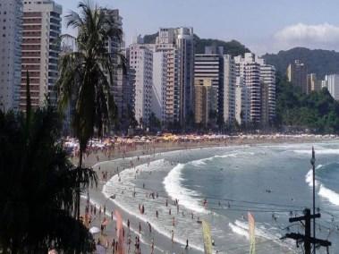 Praia da Asturias - Praias do Guaruja