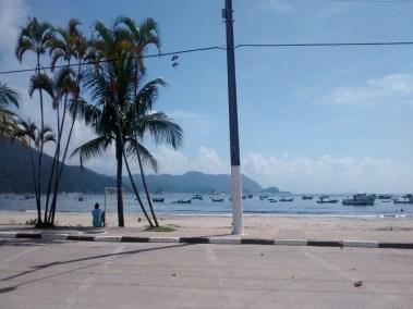 Praia do Pereque no Guaruja SP