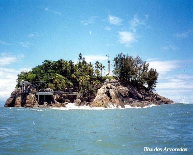 Ilha do Arvoredo no Guarujá