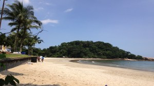 Praia de conchas Guarujá