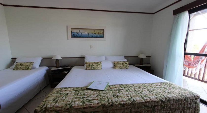 Suite Tripla do Hotel Ilhas do Caribe Guaruja