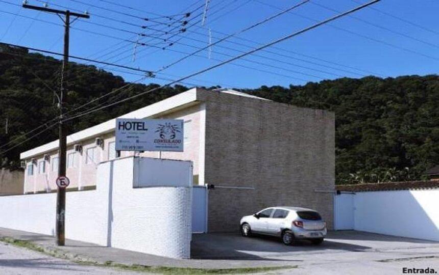 Consulado Praia Hotel Guaiuba - Guarujá