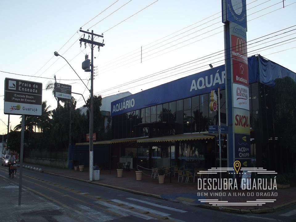 Fachada do AcquaMundo - Aquario do Guaruja - Praia da Enseada Guarujá SP