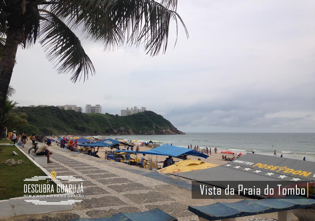 LD Esq. da Praia do Tombo no Guarujá SP