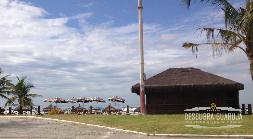 Orla da Praia da Enseada No Guaruja SP 2