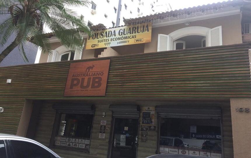 Pousada Guarujá - Praia de Pitangueiras