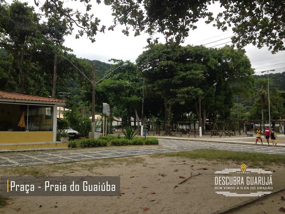 Praia do Guaiuba Guarujá - Quiosque Orla - Guarujá Praias