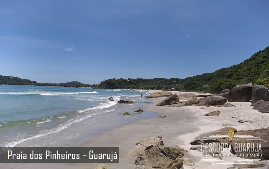 Praia dos Pinheiros Guarujá Litoral SP