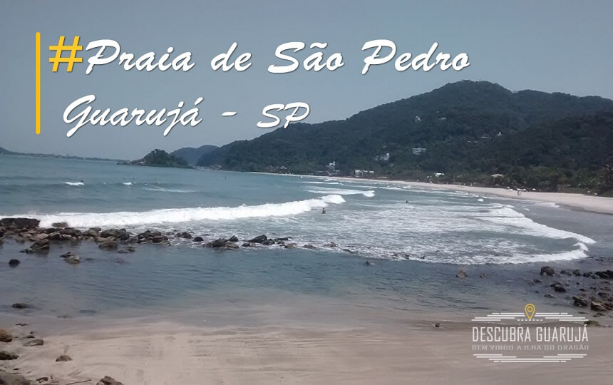 Praia de São Pedro Guarujá SP