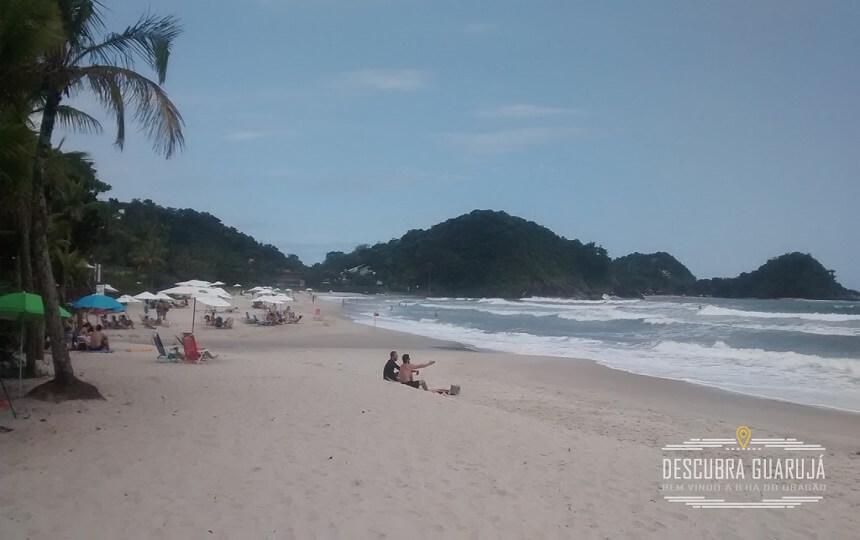 Praia de São Pedro em Guarujá Litoral paulista