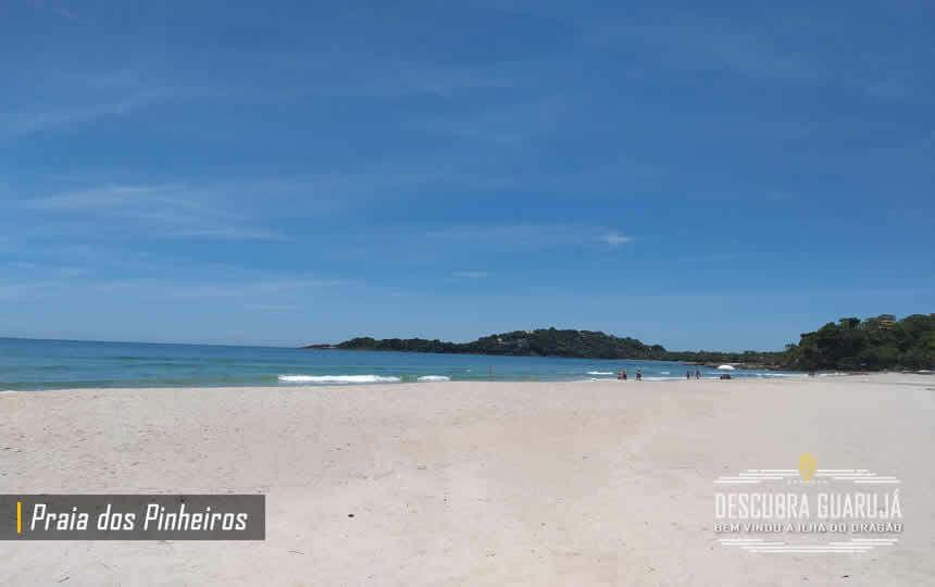 Praia dos Pinheiros em Guarujá