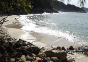 A Belíssima Praia do Éden no Guarujá