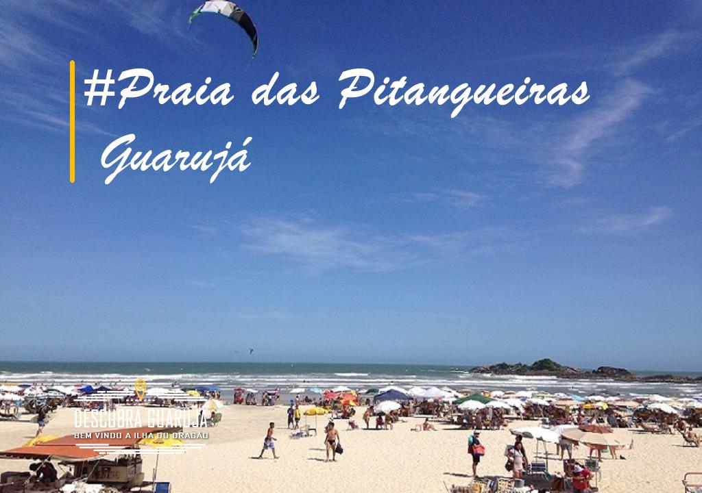 Praia de Pitangueiras Guarujá SP