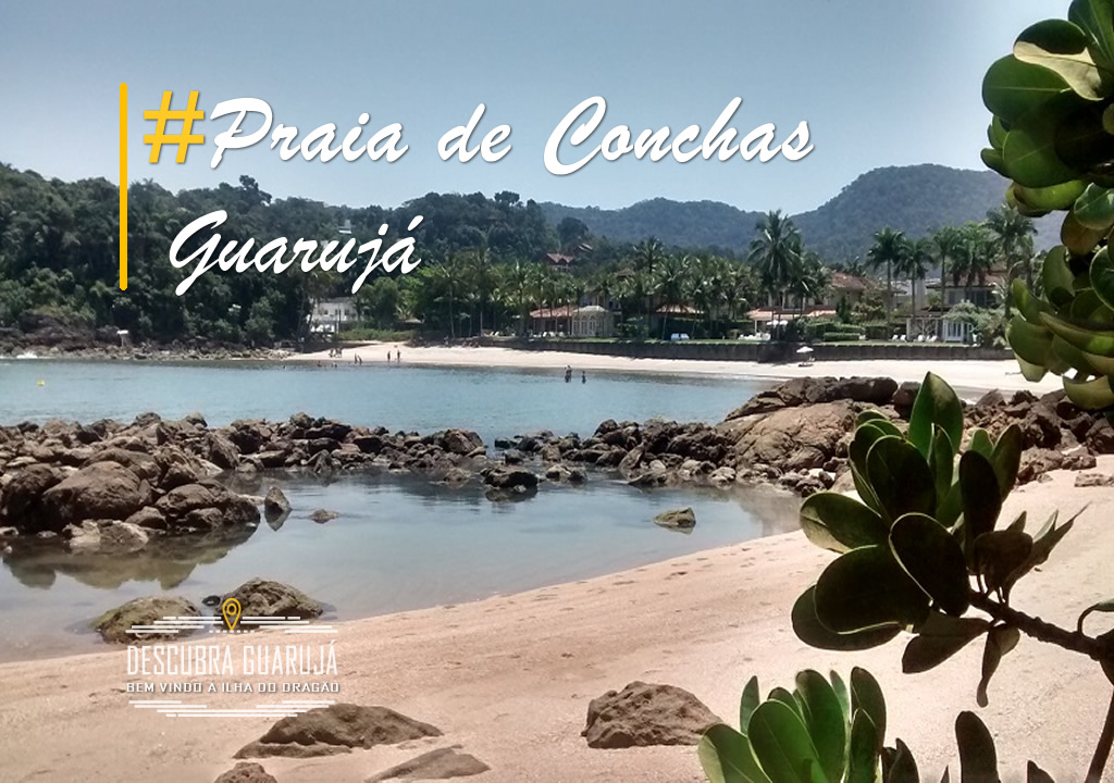 Praia de Conchas Guarujá Sp