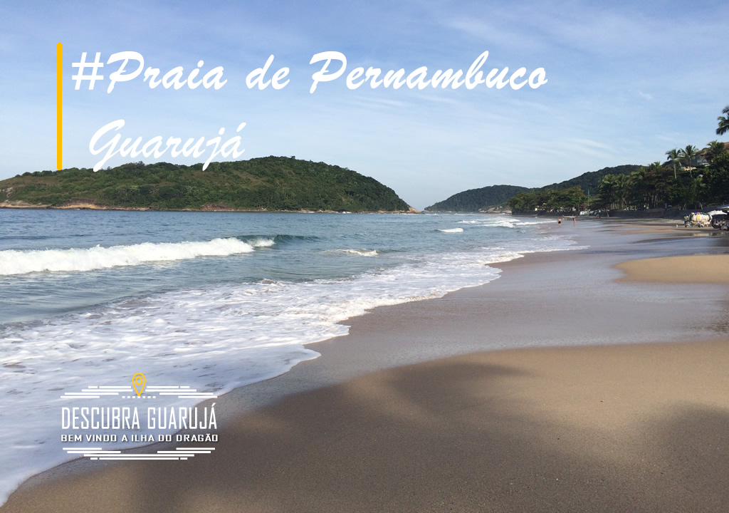 Praia do Pernambuco Guarujá