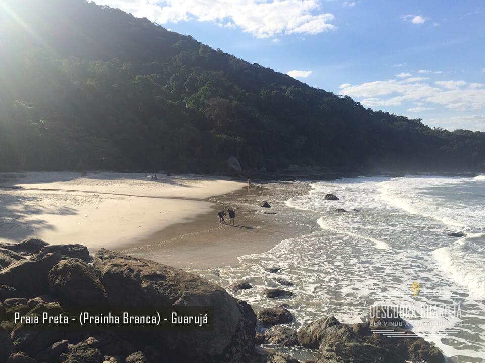Praia Preta - Prainha Branca Guarujá